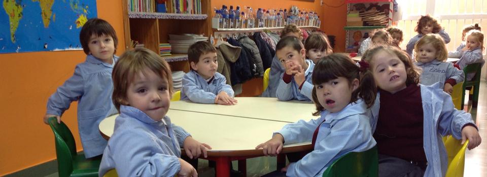Alumnos de 5º de infantil