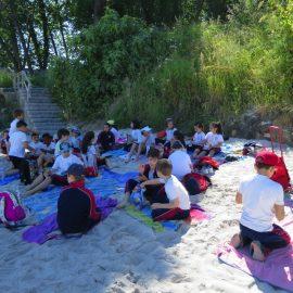Saída de 3º e 4º de EP a Praia do Alcabre