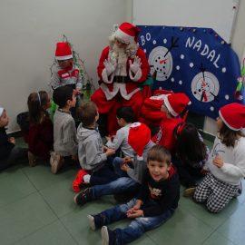 Visita Papá Noel 2016