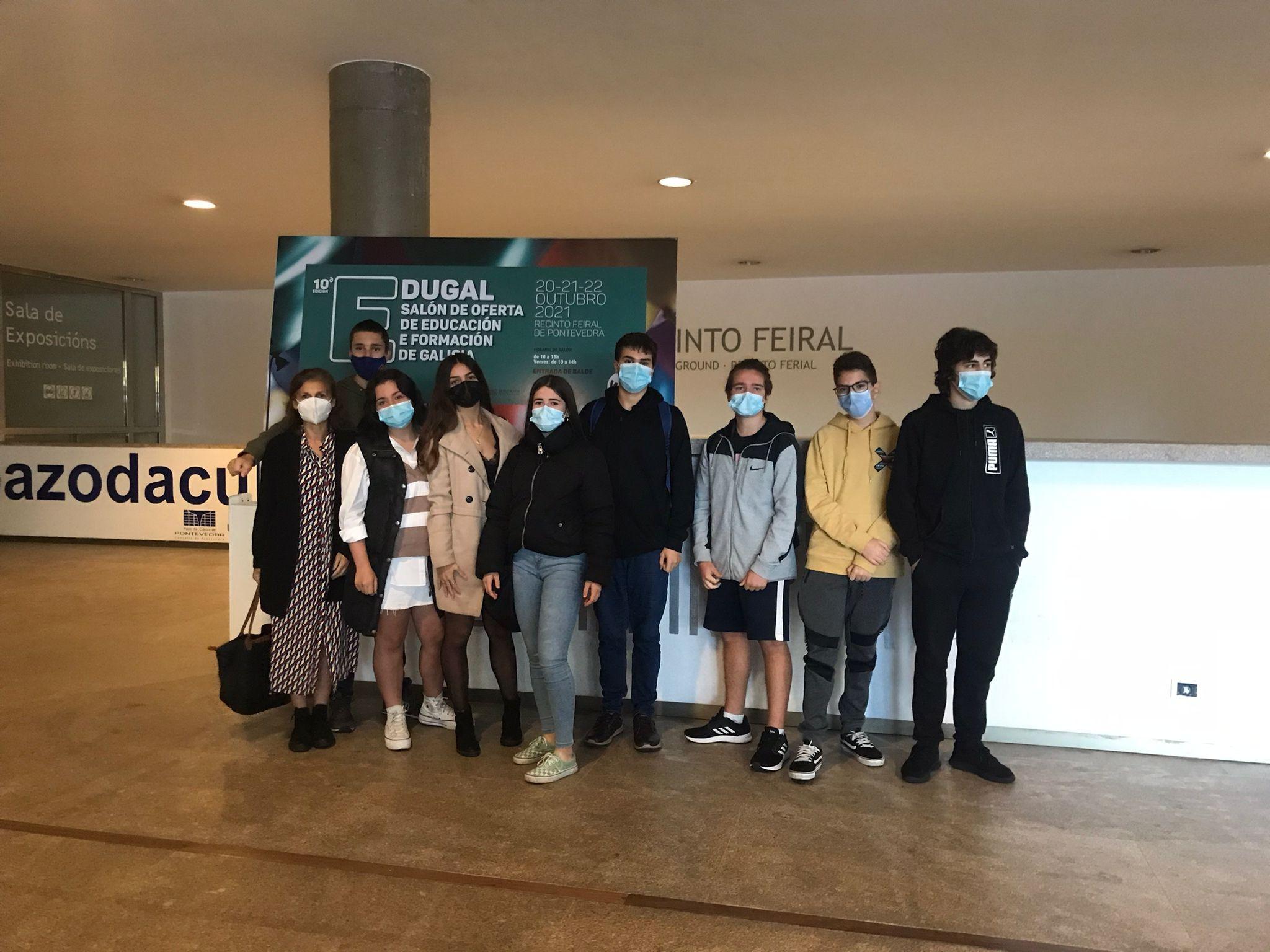 Visita de 4º ESO a Edugal